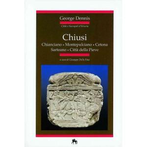 Copertina Libro Città e Necropoli d'Etruria: Chiusi