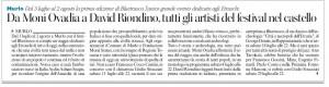 BluEtrusco Corriere Siena  23 Giugno 2015