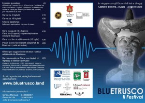BluEtrusco Programma