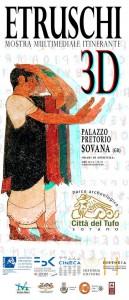 Locandina Etruschi in Europa 3D