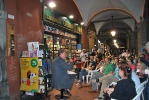 Una delle innumerevoli iniziative culturali organizzate dalla Libreria Ghibellina