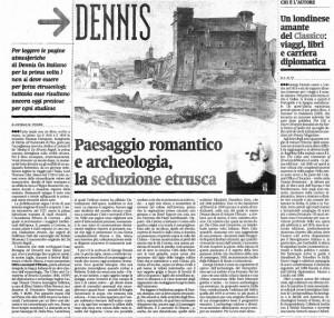 Articolo su George Dennis