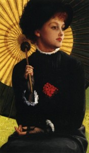 James Tissot Mrs Newton with a Parasol