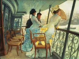James Tissot, The Gallery of HSM Calcutta (Portsmouth), 1876 ca, olio su tela