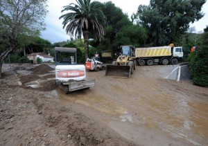 Sito archeologico di Baratti a rischio dopo l'alluvione