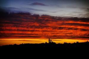 Skyline Siena foto di Matteo Cimardi