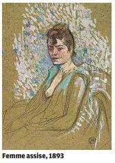 Femme assise, 1893