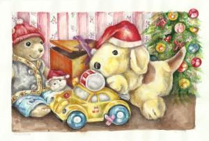 Libri per bambini - Disegno di Elena P. - riproduzione riservata