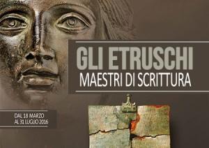 Etruschi Maestri di Scrittura