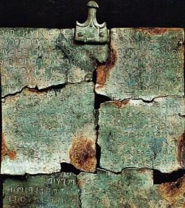 Le parole degli Etruschi a Cortona