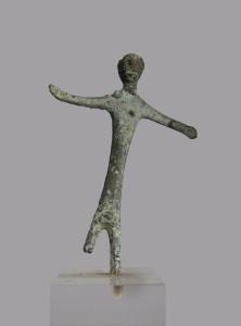 Bronzetto votivo etrusco (raccolta Guasti-Badiani)